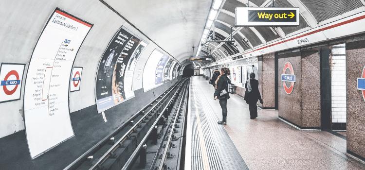 Prendre le métro à Londres