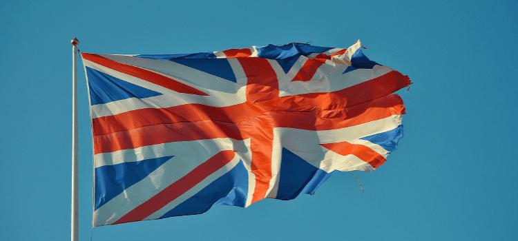 Quelle est l'origine du drapeau anglais ?