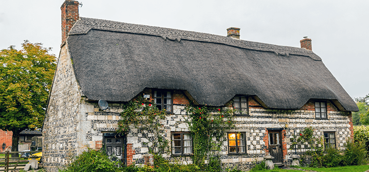 Maison de village anglais