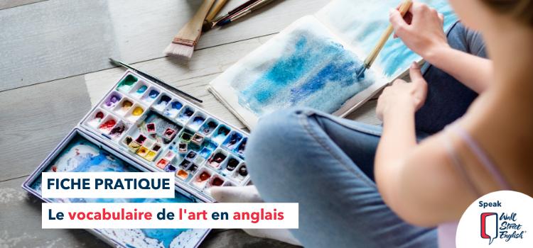 Bannière Blog - Art en Anglais