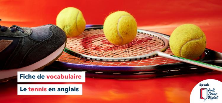 tennis en anglais