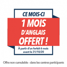 Offre du mois - Wall Street English