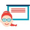 Cours avec professeur en ligne ou centre